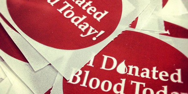 I_donated_blood_today_sticker_8285650869_o