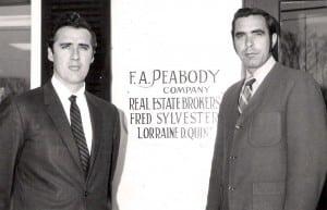 Cover Photo circa 1970 Bob and Walt