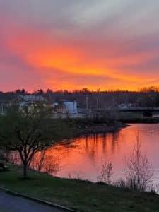 St. Croix River, Calais, Maine